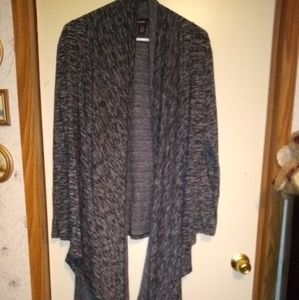 DKNY SWEATER W/BUILT IN SCARF!
